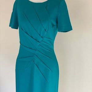 Turquoise Work Dress